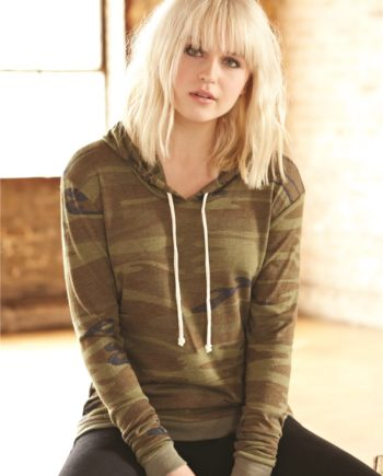 Alternative 1928 – Women s Eco-Jersey Classic Hooded Pullover T-Shirt fd010e171