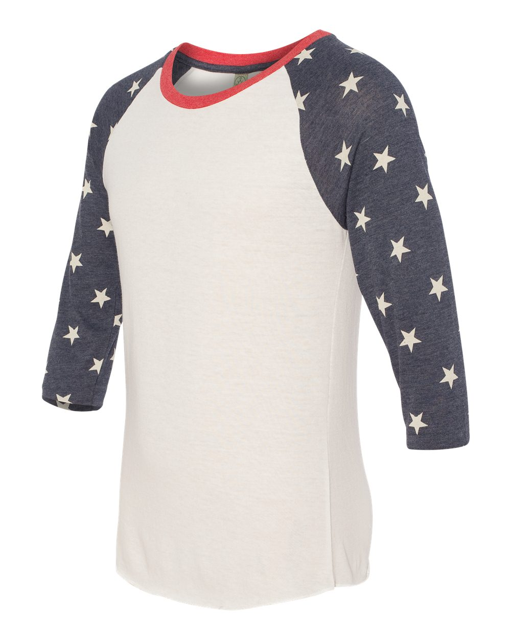 Alternative 2089ea printed eco jersey baseball raglan t for 4 color process t shirt printing