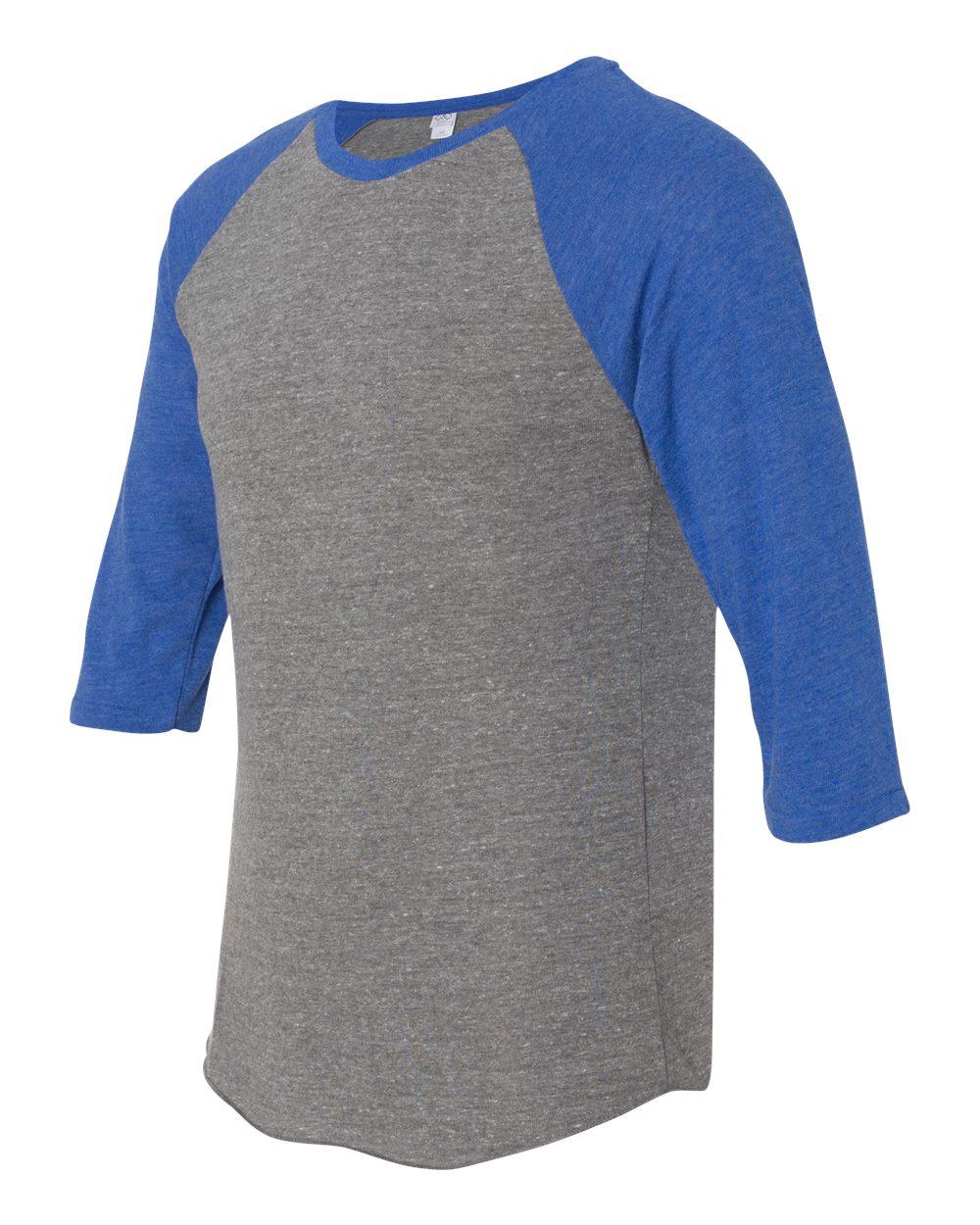 Alternative 20890 eco jersey baseball raglan t shirt for Sustainable t shirt printing