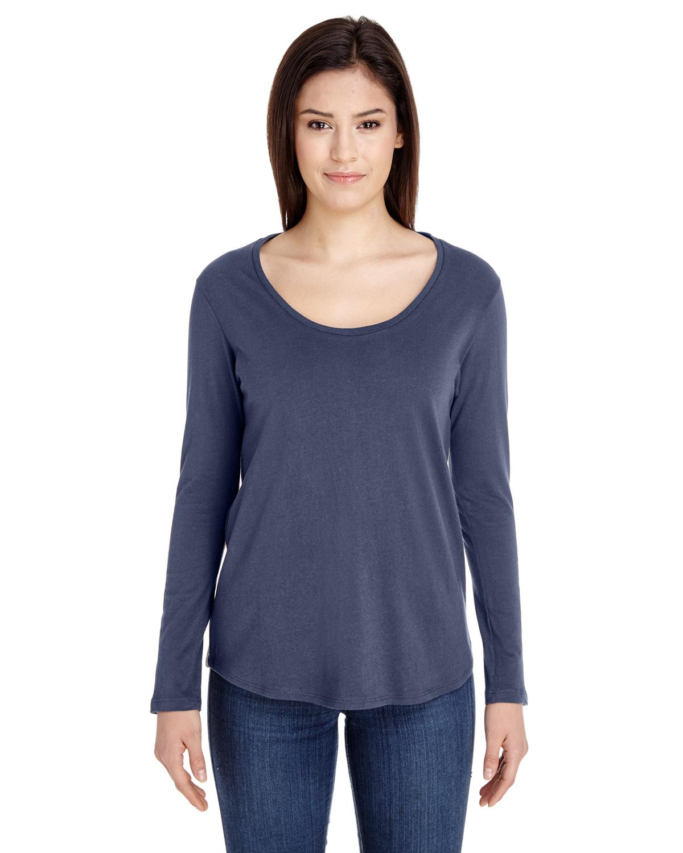 American apparel rsa6304 ladies 39 long sleeve ultra wash for American apparel custom t shirt printing
