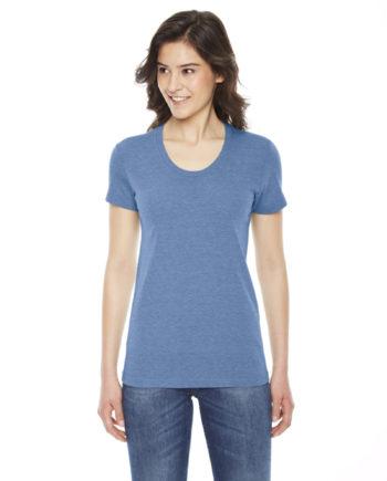 76b89c85f American Apparel TR301 – Ladies' Triblend Short-Sleeve Track T-Shirt