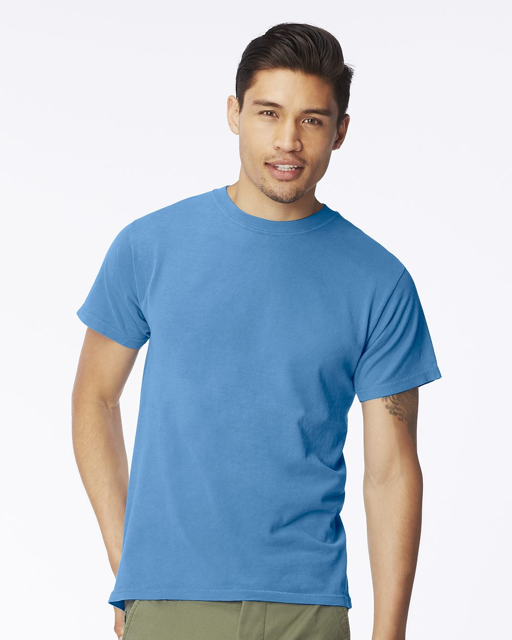 Comfort colors 5500 garment dyed short sleeve t shirt for Colour t shirt printing