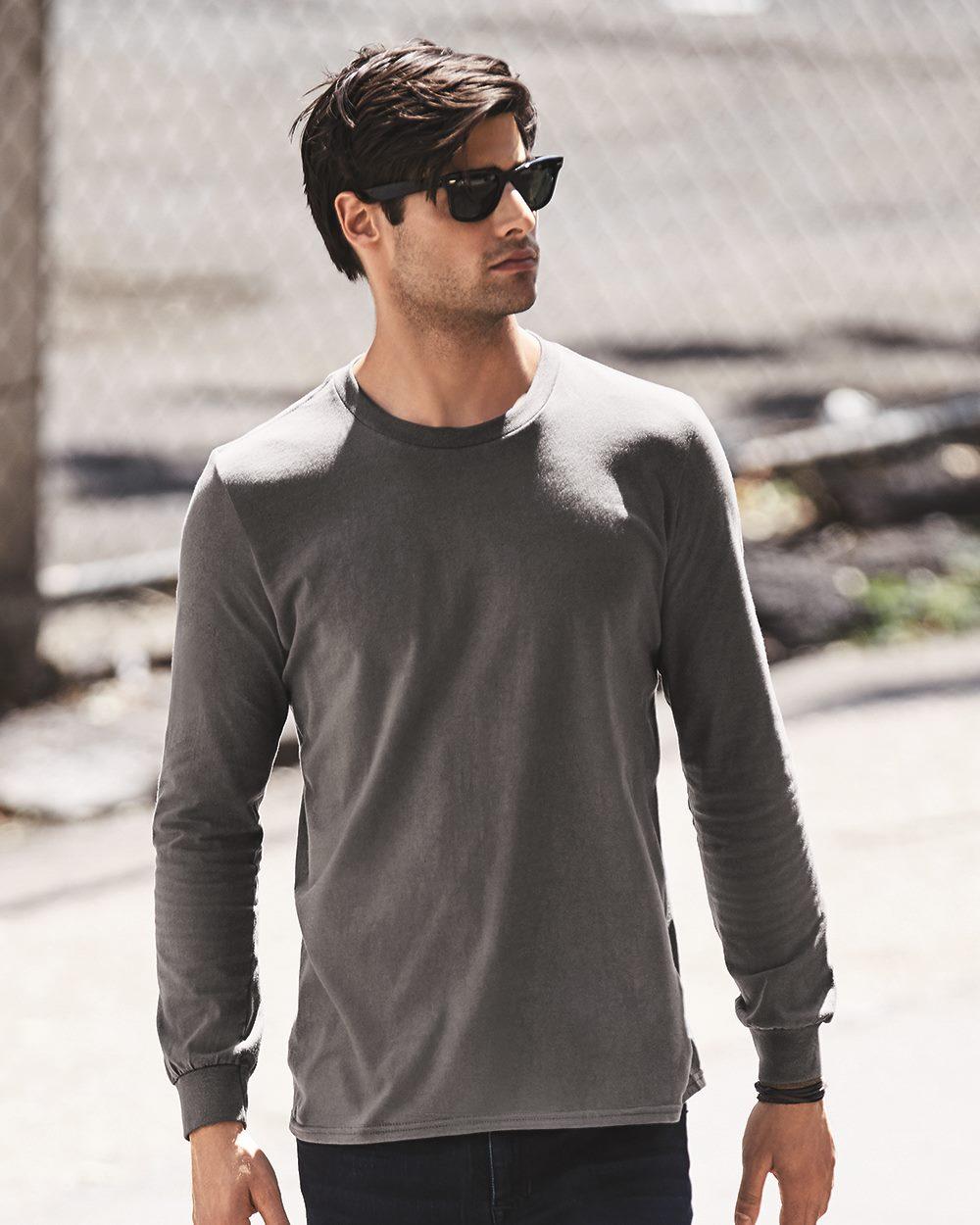 Anvil 949 - Lightweight Fashion Long Sleeve T-Shirt - Friendly ...