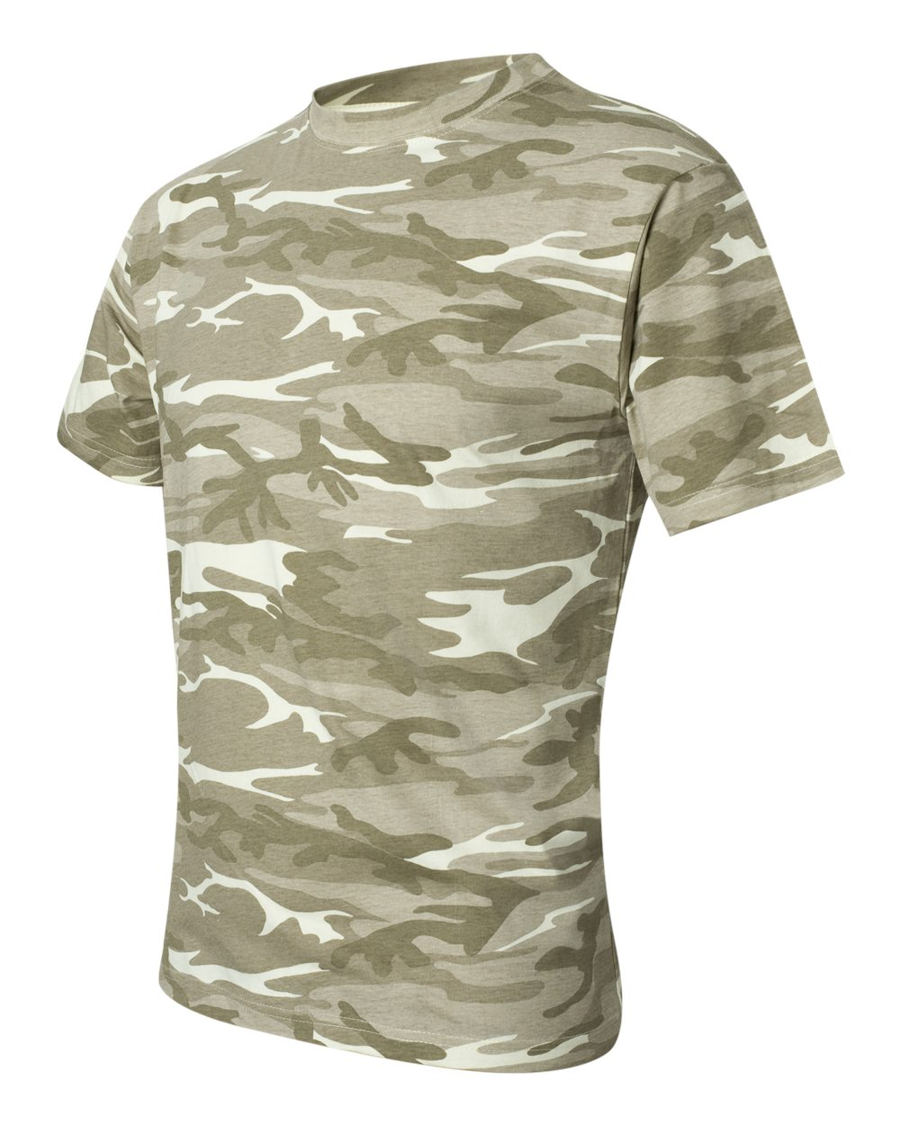 Anvil 939 camouflage t shirt friendly arctic printing for Camouflage t shirt printing