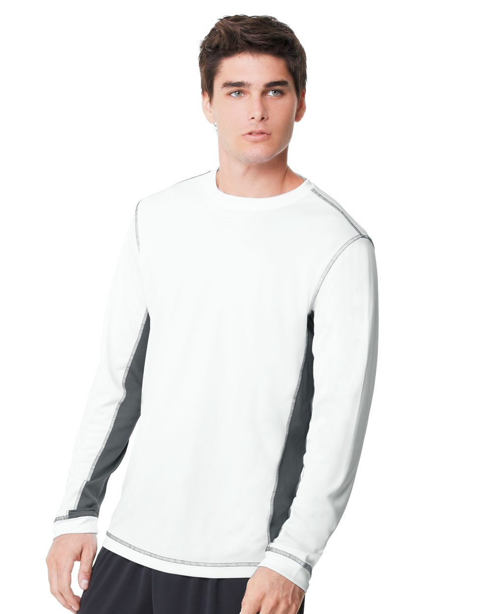 All Sport M3002 Long Sleeve T Shirt Friendly Arctic