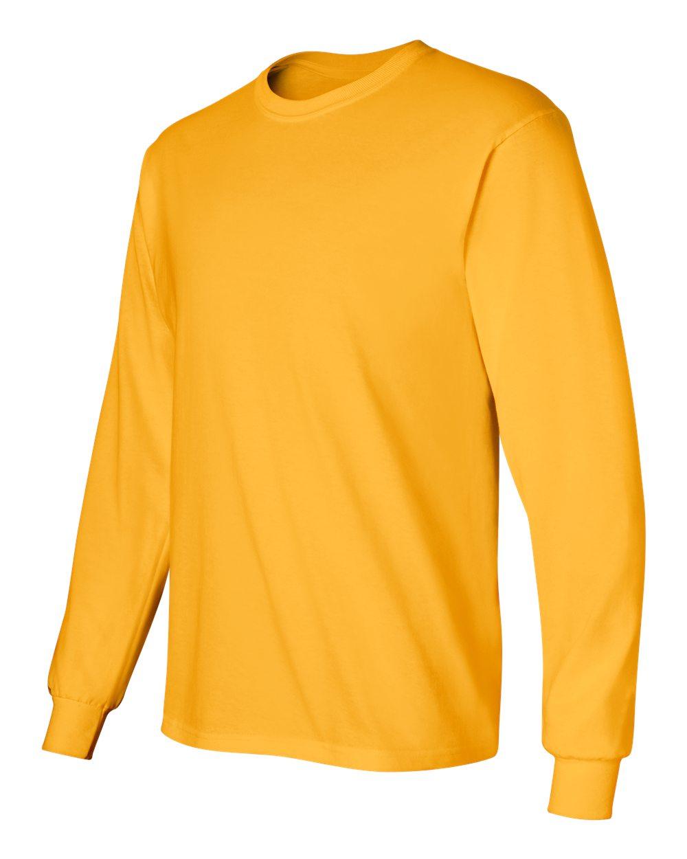 7ba8a2ff0990 Gildan 2400 - Ultra Cotton Long Sleeve T-Shirt - Friendly Arctic Printing