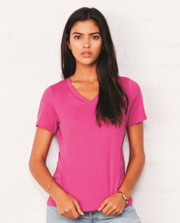 c325573c6 Bella + Canvas 6405 – Women's Relaxed Short Sleeve Jersey V-Neck Tee
