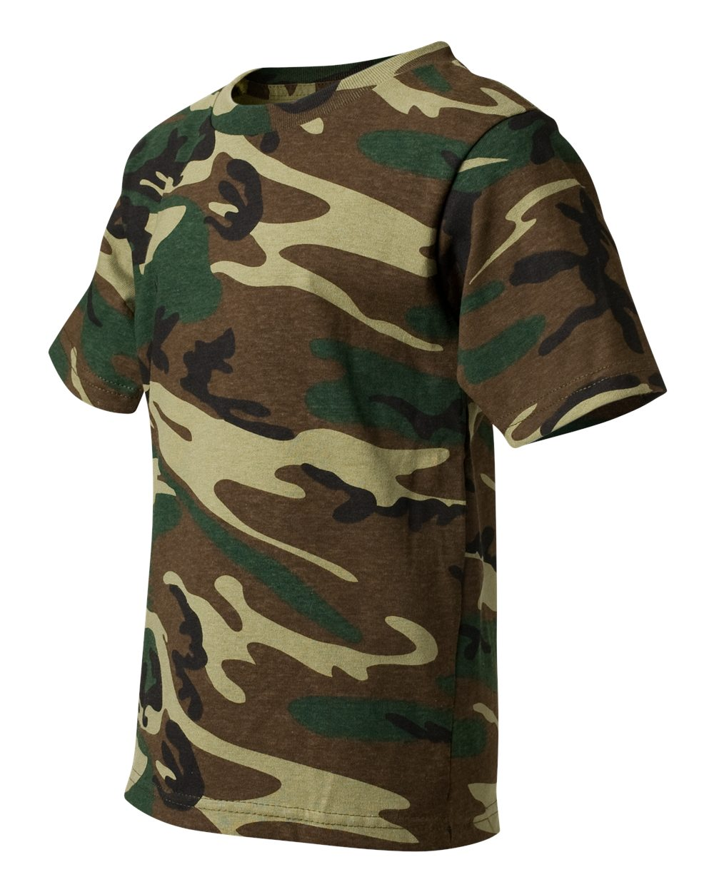 Code five 2206 youth camouflage t shirt friendly for Camouflage t shirt printing