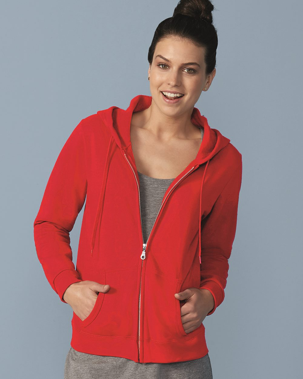 c77431e9c07 Gildan 18600FL - Heavy Blend Women s Full-Zip Hooded Sweatshirt ...