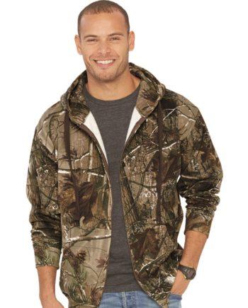 12f4f647 Code Five 3989 – Adult Realtree® Camo Zip Fleece Hoodie