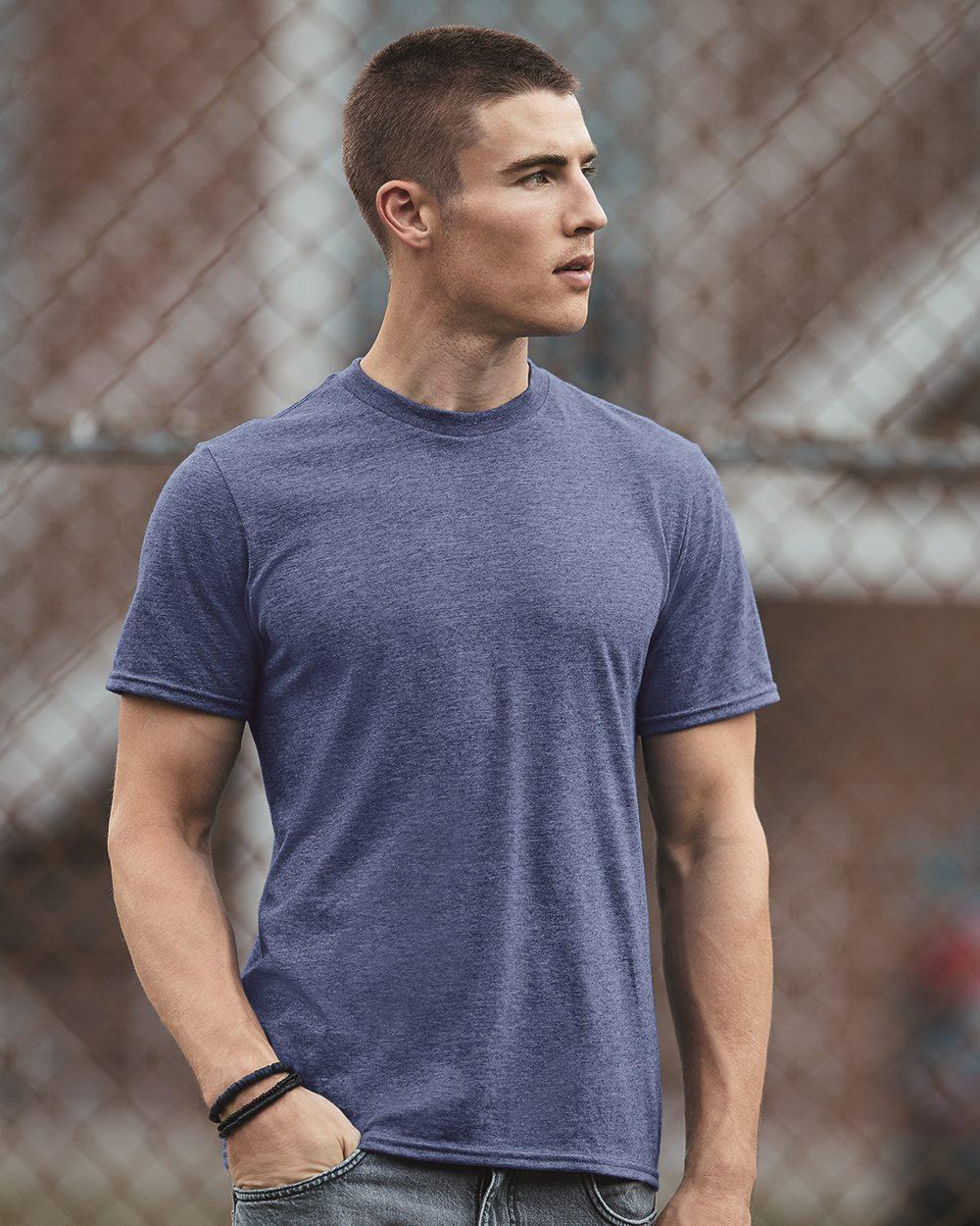 0344ab21 Anvil 980 - Lightweight Fashion Short Sleeve T-Shirt - Friendly ...