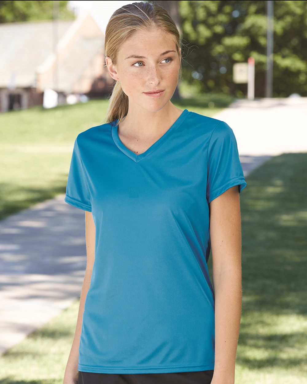Augusta Sportswear 1790 Women 39 S V Neck Wicking T Shirt