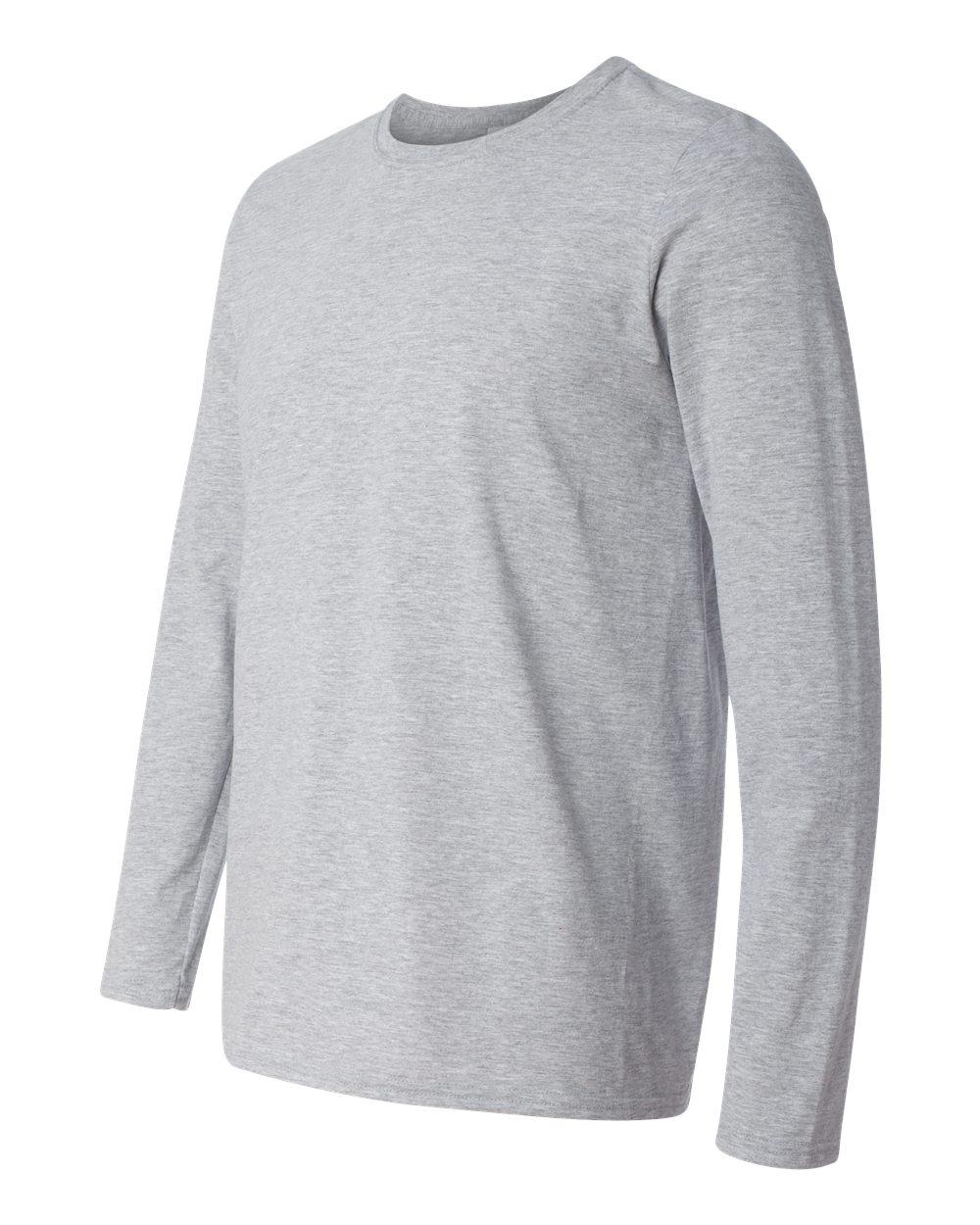 841e61d0338 Gildan 64400 - Softstyle Long Sleeve T-Shirt - Friendly Arctic Printing