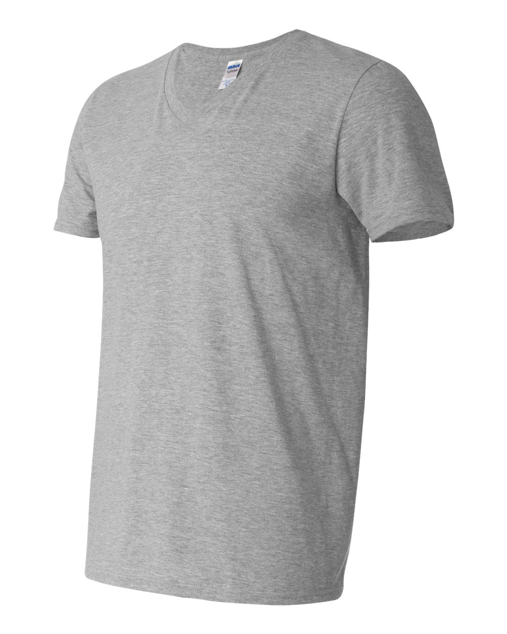 Gildan 64v00 Softstyle V Neck T Shirt Friendly Arctic