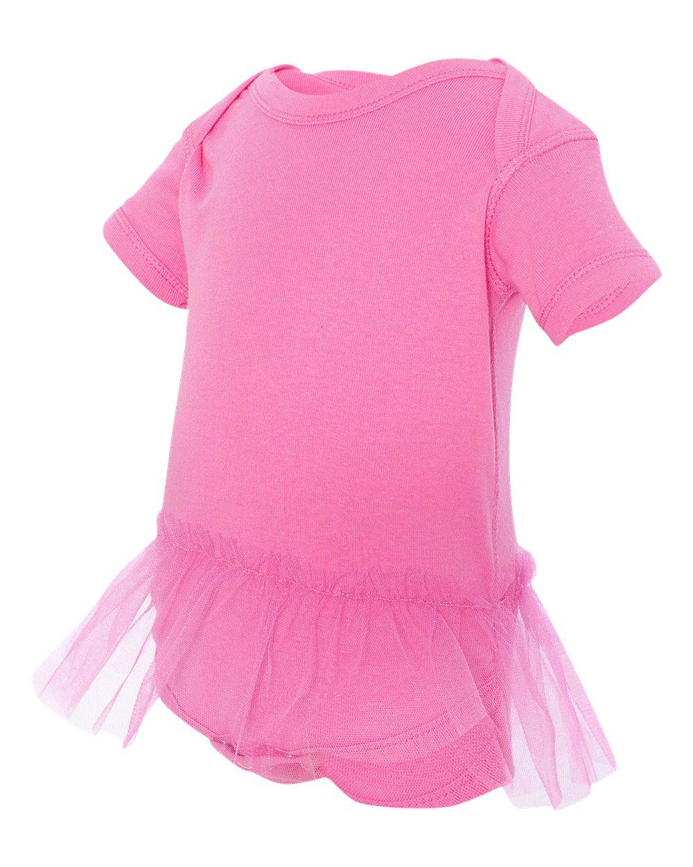 Rabbit Skins 4422 Infant Tutu Baby Rib Bodysuit