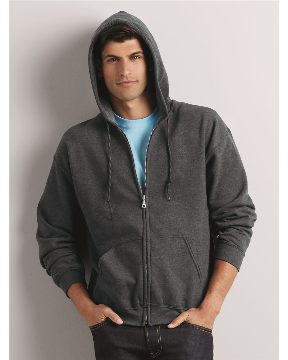 f77c26ffc Gildan 18600 - Heavy Blend Full-Zip Hooded Sweatshirt - Friendly ...