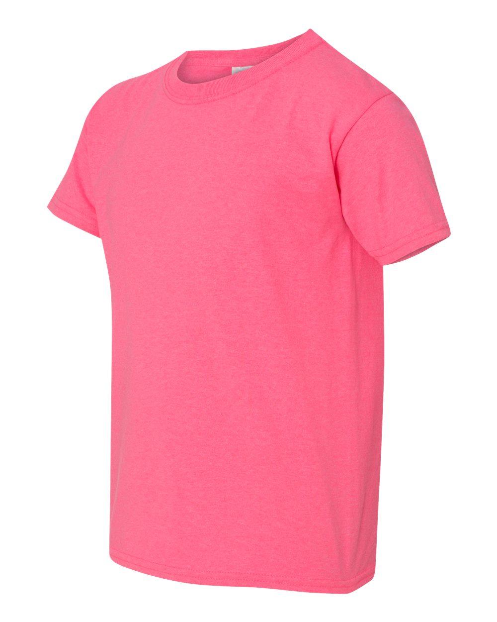 Gildan 5000b heavy cotton youth t shirt friendly for Gildan t shirt printing