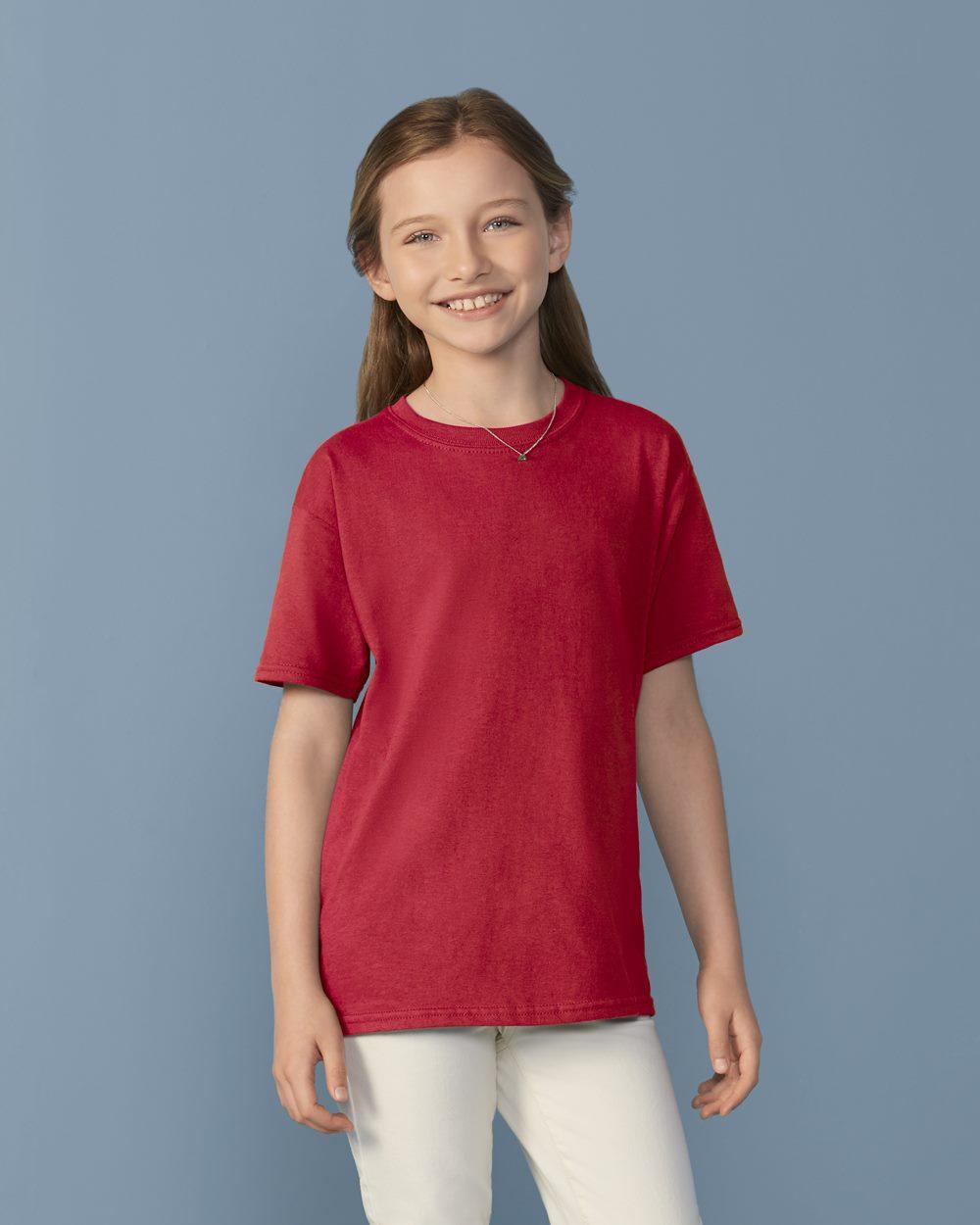 Gildan 64500b softstyle youth short sleeve t shirt for Kids t shirt printing