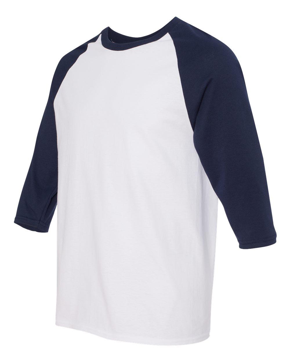 Gildan 5700 Heavy Cotton Three Quarter Raglan Sleeve
