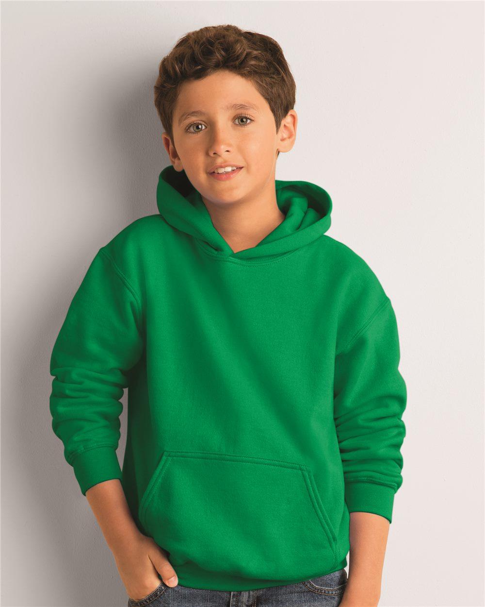 806b6a595397 Gildan 18500B - Heavy Blend Youth Hooded Sweatshirt - Friendly ...