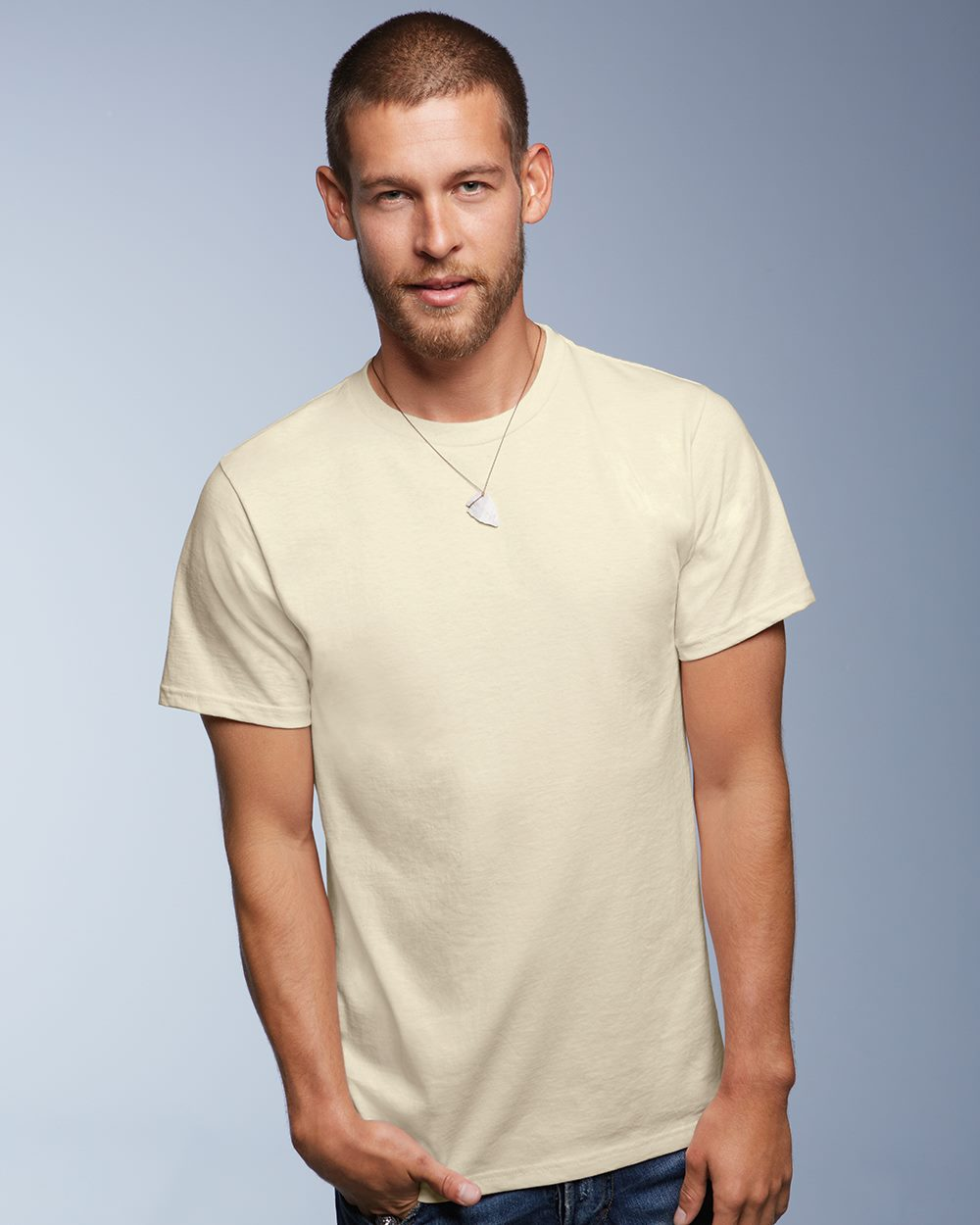 cbaf97c7df38 Anvil 420 - Organic Cotton T-Shirt - Friendly Arctic Printing